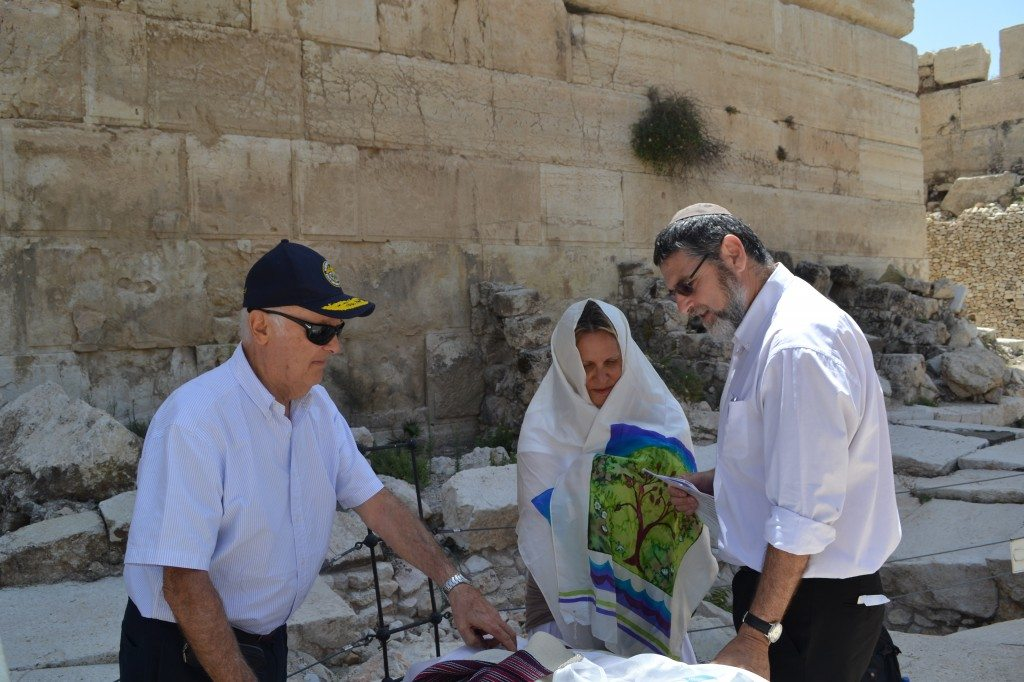 Bat Mitzvah at the Western Wall in Jerusalem