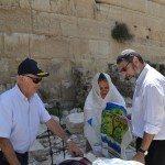 Bat Mitzvah at the Western Wall in Jerusalem