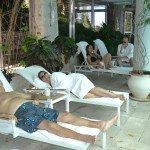 Enjoying Mitzpe Hayamim Spa resort in Rosh Pinah