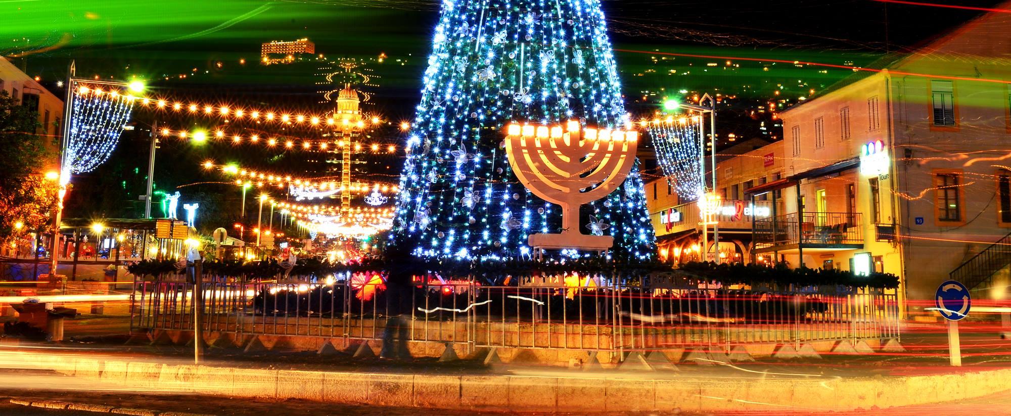 holidays in israel hannukah christmas